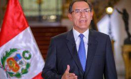 """Martín Vizcarra: """"Los cuatro proyectos de reforma tienen que aprobarse"""""""