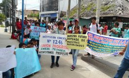 Más de 200 estudiantes de Shimpiyacu piden docentes para comunidad