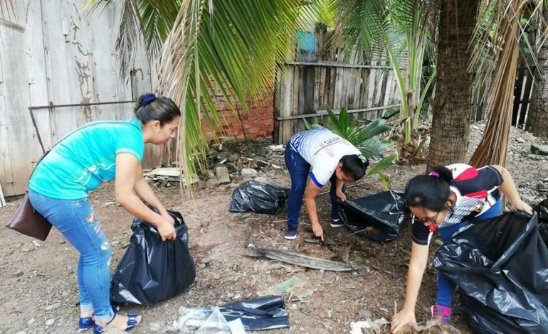 Jornada institucional, unidos contra el dengue