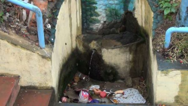 Fuente de agua del barrio Suchiche de Tarapoto está a punto de desaparecer
