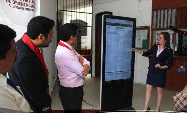 PJ inaugura módulo virtual de orientación al usuario