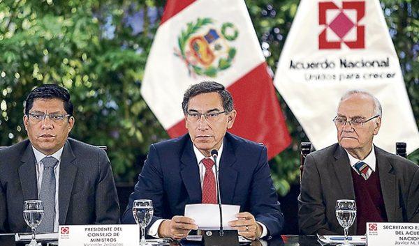 """Vizcarra: """"No hay forma de erradicar la corrupción sin verdadera conciencia colectiva"""""""