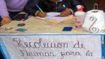 Se dio inicio a la recolección de firmas para la vacancia de Gastelo Huamán Chinchay al mando de la MPM