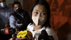 """Keiko Fujimori: """"Ninguna empresa corrupta va a trabajar con el Estado"""""""
