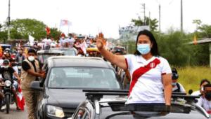 """Keiko Fujimori: """"Es absolutamente natural"""" ver juntos a Pedro y a Verónika"""