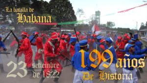 Conmemoramos los 199 años del  hecho histórico de la Batalla de Habana