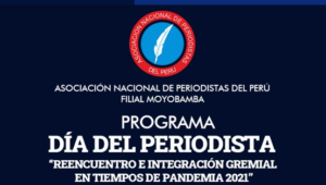 La Asociación Nacional de Periodistas del Perú filial Moyobamba presenta cronograma por el Día del Periodista