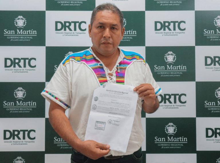 Designan nuevo titular de la Dirección Regional de Transportes y Comunicaciones de San Martín